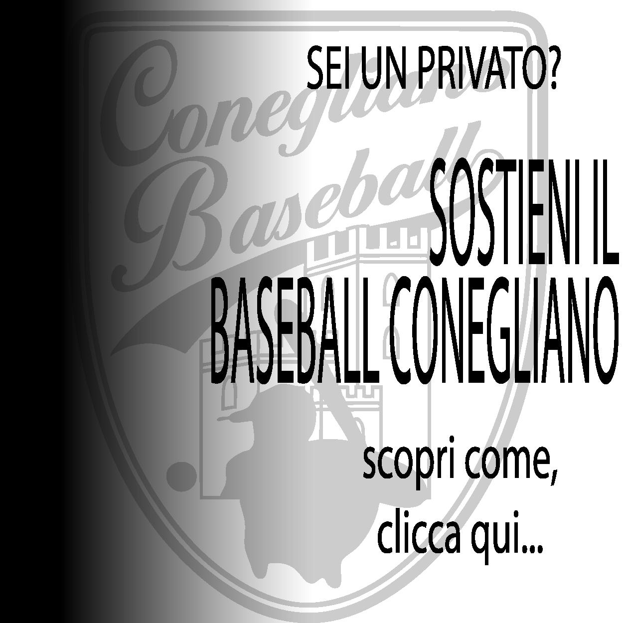 sostieni il baseball conegliano